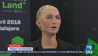 Robot Sophia invitada estelar del Talent Land 2018