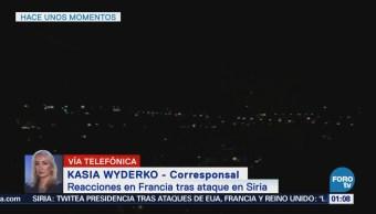 Rusia fue advertido de ataques militares, asegura Francia