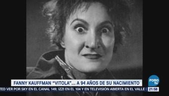 Efeméride Historia Cultura Vitola Fanny Kaufman