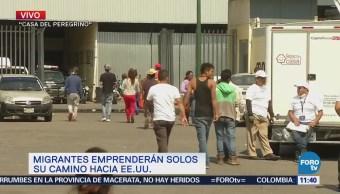 Salvadoreños miembros del 'Viacrucis Migrante' pedirán al Senado ciudadanía mexicana