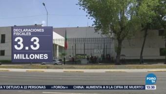 Sat: 2.8 Millones Declaraciones Fiscales Recibieron Saldo Favor
