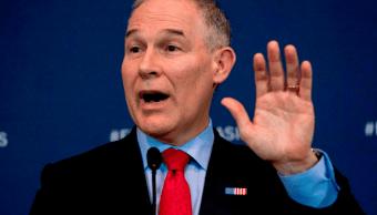 Jefe de Medioambiente de Trump violó la ley de gastos