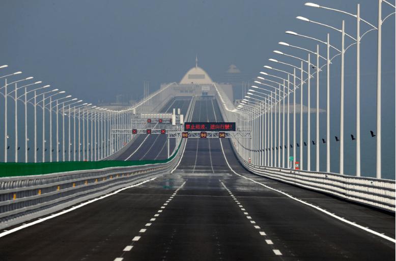 el puente marítimo más largo del mundo