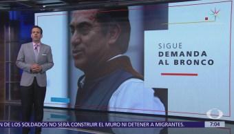 Sigue vigente denuncia ante Fepade por irregularidades en apoyos ciudadanos de 'El Bronco'