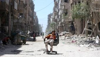 Putin dice a Merkel ataque contra Siria fue 'acto de agresión'
