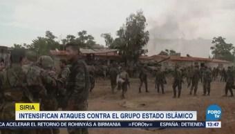 Siria Intensifica Operación Militar Contra Terroristas Estado Islámico