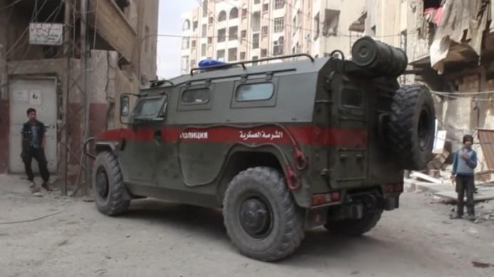 Rusia desplegará tropas en la ciudad siria de Duma
