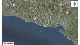 Sismo magnitud 5 9 sacude costa El Salvador