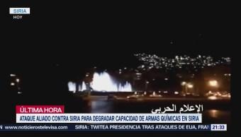 Suenan Alarmas En Damasco Ante Ataque De Estados Unidos
