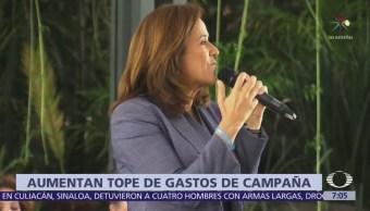 TEPJF aprobó tope de 429 mdp de financiamiento privado para Margarita Zavala