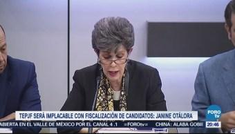 TEPJF será implacable con fiscalización de candidatos