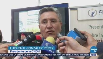 Titula Cndh Reconoce Firmeza Presidente Luis Raúl González Pérez