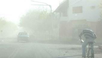 Vientos y tolvaneras se prevén en norte, noroeste y noreste de México