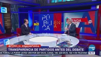 Transparencia Partidos Políticos Análisis Mauricio Merino