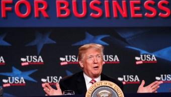 Trump insiste en que EU no puede seguir perdiendo