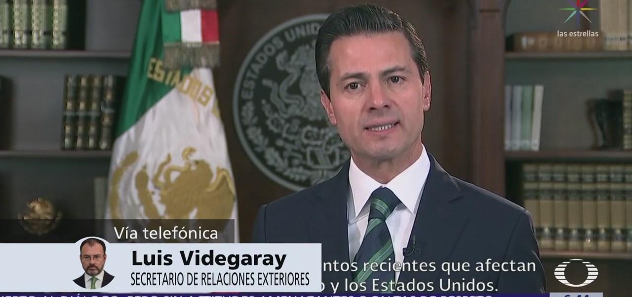 Trump, migrantes y TLCAN, postura del canciller Luis Videgaray en Despierta