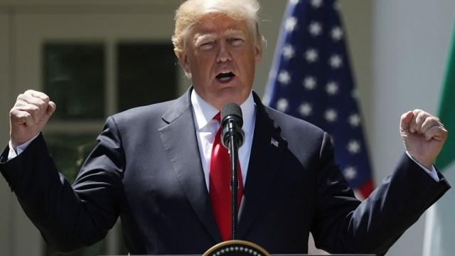 Trump insiste al Congreso de EU actuar para detener migración ilegal