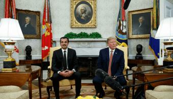 Trump obtiene el respaldo de Catar ante presunto ataque químico Siria