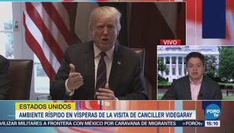 Trump Sube Tono Críticas México