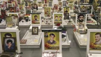 Líbano rinde homenaje a sus combatientes de Hezbolá en Siria