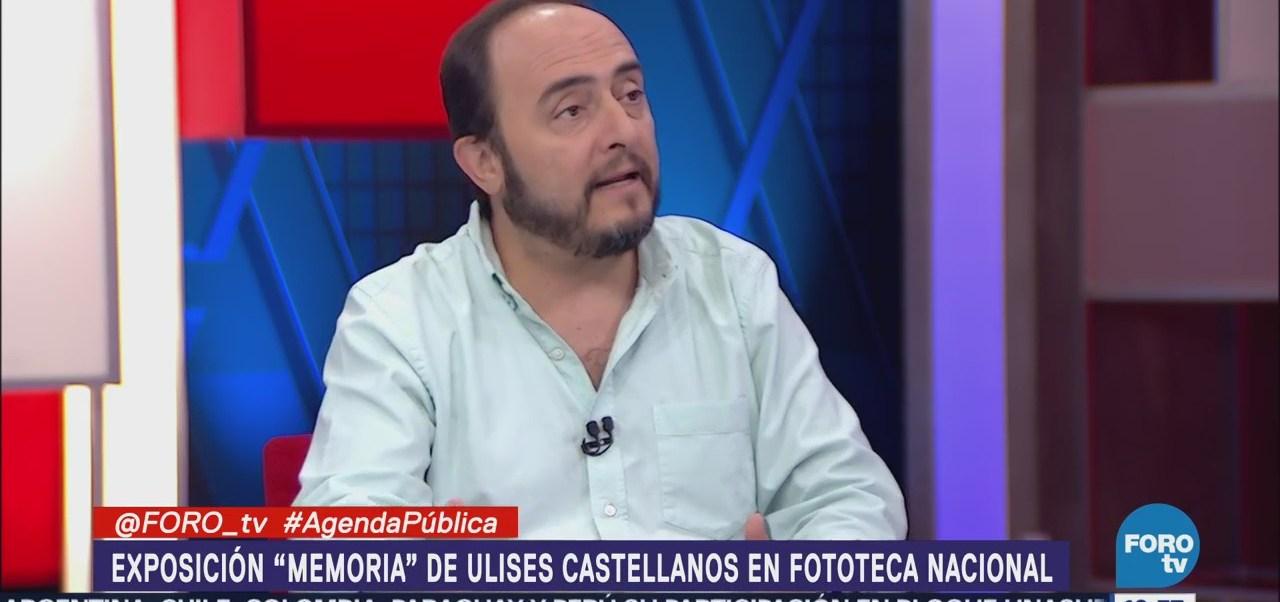 Ulises Castellanos Dona Trabajo Fototeca Nacional