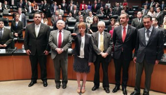 Senado toma protesta a Úrsula Carreño como subsecretaria de Egresos de SHCP