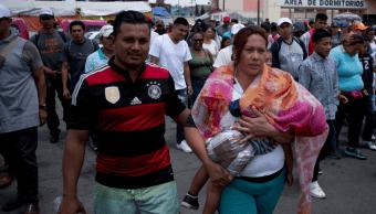 "Integrantes del ""Viacrucis Migrante"" se alojan en Casa del Peregrino, CDMX"