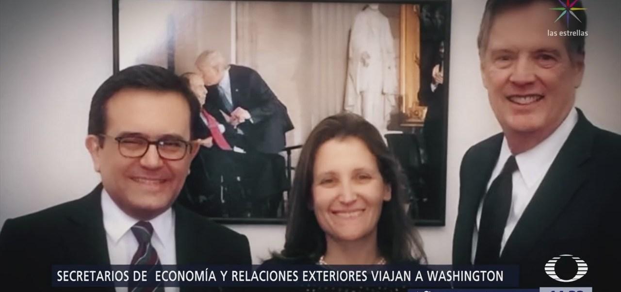 Videgaray y Guajardo viajan a Washington