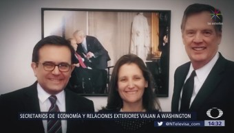 Videgaray y Guajardo viajan a Washington