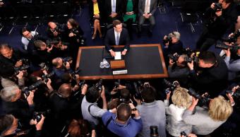 Zuckerberg comparece ante el Congreso de Estados Unidos