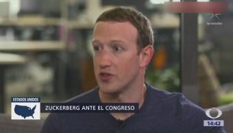 Zuckerberg testificará ante el Congreso de EU