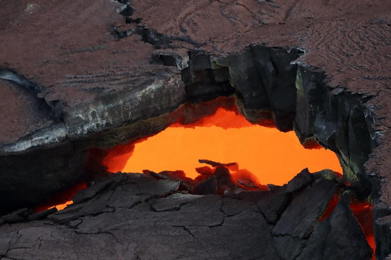 Ordenan desalojo en Hawaii por erupción del volcán Kilauea
