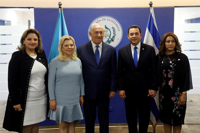 Jimmy Morales inaugura embajada de Guatemala en Jerusalén