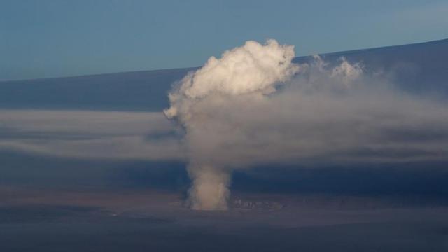 volcan kilauea erupcion explosiva hawaii ceniza