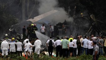 llegan mexico restos capitan avion accidentado cuba