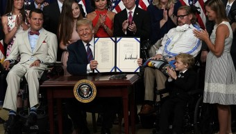 Trump tratamientos experimentales con pacientes terminales
