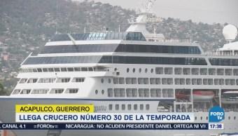 Acapulco Recibe Turistas Llegan Mar