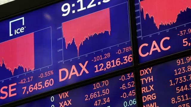 Tensiones comerciales arrastran las acciones europeas