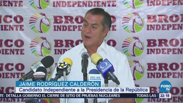 Actividades Jaime Rodríguez Calderón Tamaulipas