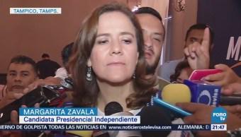Actividades de Margarita Zavala en Tampico, Tamaulipas