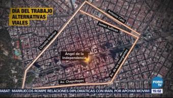 Afectaciones Viales Pro Marchas CDMX