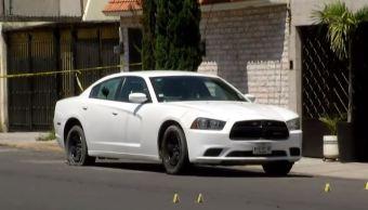 Sujetos atacan a balazos a policía de Naucalpan, Estado de México