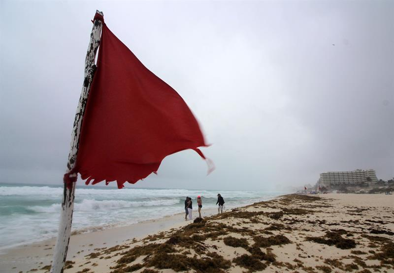'Alberto' provoca aumento de sargazo en Quintana Roo
