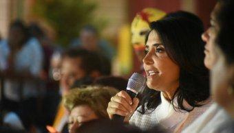 Alejandra Barrales se reúne con vecinos de Iztapalapa