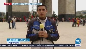 Alistan Marcha Saldrá Monumento Revolución, CDMX