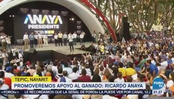 Anaya Promete Declarar Zona Económica Especial Nayarit