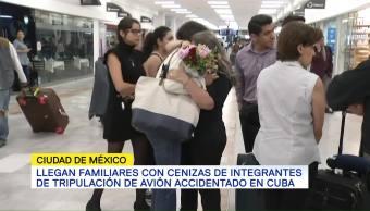 Llegan Cenizas Mexicanos Murieron Cuba