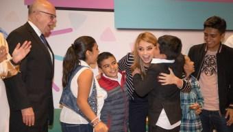 Angélica Rivera encabeza 75 aniversario del Hospital Infantil 'Federico Gómez'