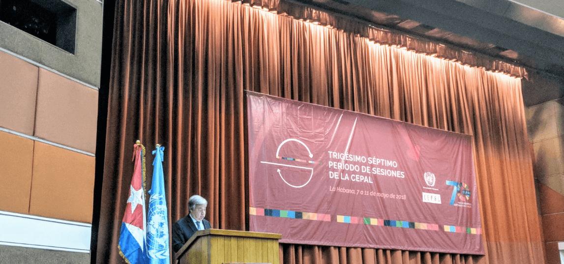 Guterres convoca a Cumbre del Clima para septiembre 2019