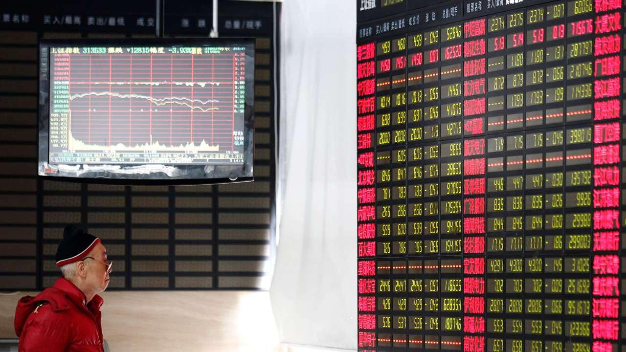 Bolsa de Tokio y Shanghái a la baja por tensión geopolítica